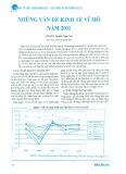 Những vấn đề kinh tế vĩ mô năm 2011