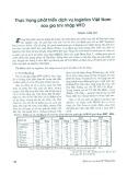 Thực trạng phát triển dịch vụ logistics Việt Nam sau khi gia nhập WTO