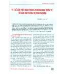 Vị thế của Việt Nam trong thương mại quốc tế: Từ góc độ phòng vệ thương mại