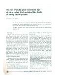 Thu hút nhân tài phát triển khoa học và công nghệ: Kinh nghiệm Hàn Quốc và hàm ý cho Việt Nam