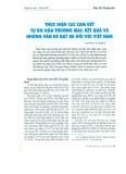 Thực hiện các cam kết tự do hóa thương mại: Kết quả và những vấn đề đặt ra đối với Việt Nam