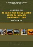 Báo cáo cuối cùng: Đề án phát triển dịch vụ logistics tỉnh Bà Rịa - Vũng Tàu giai đoạn 2011 - 2020