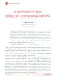 Thu chi ngân sách nhà nước Việt Nam: Phân tích quy mô và khuyến nghị đối với khuôn khổ pháp lý