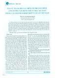 Bàn về thang đo các nhân tố phi hành chính ảnh hưởng vận dụng chuẩn mực kế toán trong các doanh nghiệp nhỏ và vừa ở Việt Nam