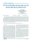 Các yếu tố ảnh hưởng đến xuất khẩu thủy sản của Việt Nam sang thị trường Âu Mỹ