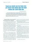 Tham gia chuỗi giá trị toàn cầu: Lối thoát cho nông sản Việt Nam trong bối cảnh hiện nay