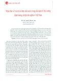 Nhận thức về vai trò sở hữu nhà nước trong nền kinh tế thị trường định hướng Xã hội chủ nghĩa ở Việt Nam