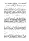 Xói lở - bồi tụ bờ biển tỉnh Bà Rịa Vũng Tàu hiện trạng và nguyên nhân