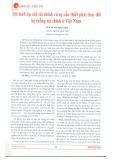 Mô hình áp chế tài chính và sự cần thiết phải thay đổi hệ thống tài chính ở Việt Nam