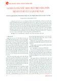 Vai trò của Nhà nước trong quá trình phát triển nông thôn: Một số vấn đề về lý luận ở Việt Nam