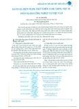 Đánh giá hiện trạng phát triển xanh trong một số phân ngành công nghiệp tại Việt Nam