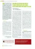 Ảnh hưởng của tín dụng ngân hàng và tín dụng thương mại đến tăng trưởng của các doanh nghiệp nông nghiệp ở Việt Nam