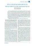 Những vấn đề quản trị doanh nghiệp nhà nước trong quá trình tái cấu trúc doanh nghiệp ở Việt Nam