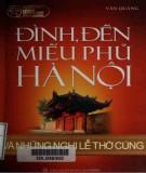 Ebook Đình, đền, miếu phủ Hà Nội và những nghi lễ thờ cúng: Phần 1