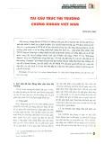Tái cấu trúc thị trường chứng khoán Việt Nam