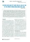 So sánh hiệu quả kỹ thuật của vụ lúa Hè Thu và Thu Đông ở Đồng bằng Sông Cửu Long