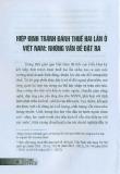 Hiệp định tránh đánh thuế hai lần ở Việt Nam: Những vấn đề đặt ra
