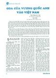 ODA của Vương quốc Anh vào Việt Nam
