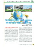 Thúc đẩy phát triển công nghiệp trong bối cảnh toàn cầu hóa và hội nhập kinh tế quốc tế