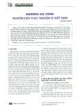 Ngưỡng nợ công - Nghiên cứu thực nghiệm ở Việt Nam