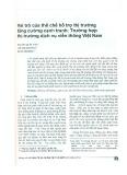 Vai trò của thể chế hỗ trợ thị trường tăng cường cạnh tranh: Trường hợp thị trường dịch vụ viễn thông Việt Nam