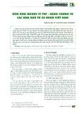 Hiệu ứng ngược vị thế - Bằng chứng từ các nhà đầu tư cá nhân Việt Nam