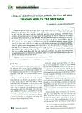 Mối quan hệ giữa xuất khẩu, lạm phát và tỷ giá hối đoái - Trường hợp cá tra của Việt Nam