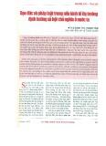 Đạo đức và pháp luật trong nền kinh tế thị trường định hướng xã hội chủ nghĩa ở nước ta