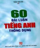 Ebook 60 bài luận tiếng Anh thông dụng: Phần 1