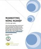 Ebook Marketing nông nghiệp (Tài liệu tập huấn): Phần 1