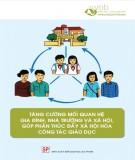 tăng cường mối quan hệ gia đình, nhà trường và xã hội, góp phần thúc đẩy xã hội hóa công tác giáo dục: phần 1