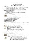 Giáo án Tự nhiên xã hội lớp 3 - Bài 28: Bề mặt Trái Đất