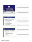 Bài giảng học phần Báo cáo thuế: Chương 1 - ThS. Tăng Thanh Thủy