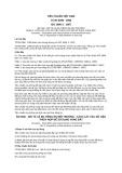 Tiêu chuẩn Việt Nam TCVN 6399:1998 - ISO 1996-2:1987