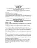 Tiêu chuẩn Quốc gia TCVN 6404:2008 - ISO 7218:2007