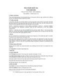 Tiêu chuẩn Quốc gia TCVN 6466:2008