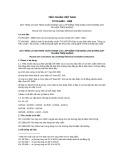 Tiêu chuẩn Việt Nam TCVN 6483:1999