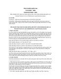 Tiêu chuẩn Quốc gia TCVN 8231:2009 - ISO/ASTM 51540:2004