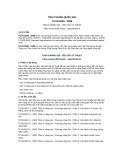 Tiêu chuẩn Quốc gia TCVN 8258:2009