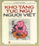 Ebook Kho tàng tục ngữ người Việt (Tập 2): Phần 2