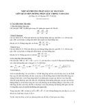 Một số phương pháp giải các bài toán liên quan đến đường phân giác trong tam giác