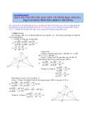 Một số chuyên dề bài viết về hình học phẳng