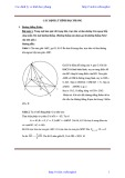 Các định lý hình học phẳng