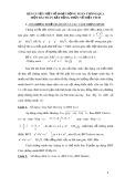 Rèn luyện một số hoạt động Toán thông qua một bài toán bất đẳng thức về diện tích