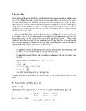 Chuyên đề: Ứng dụng tích vô hướng của Vectơ vào việc thiết lập và chứng minh bất đẳng thức