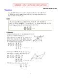 Định lý Ceva và ứng dụng giải toán