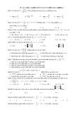 83 câu trắc nghiệm môn Toán ôn kiểm tra chương I