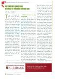 Phát triển dịch vụ ngân hàng đối với dân cư vùng nông thôn Việt Nam