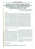 Nghiên cứu khả năng gây độc cấp tính và hội chứng gan tụy do Cypermethrin gây ra đối với tôm sú và tôm thẻ chân trắng ở đồng bằng Sông Cửu Long