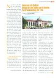Chính sách tiền tệ hỗ trợ và thúc đẩy tăng trưởng kinh tế bền vững tại Việt Nam giai đoạn 2011 - 2014